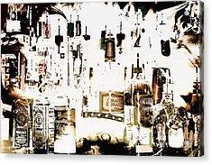 Prohibition  Era Acrylic Print by Elaine Manley