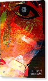 Promise Acrylic Print by Fania Simon