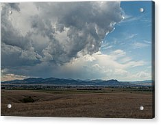 Acrylic Print featuring the photograph Promises Of Rain by Fran Riley