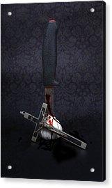 Protection Against Vampires Acrylic Print by Joana Kruse