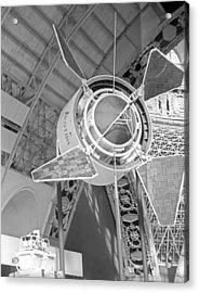 Proton 1 Exhibition Display, 1967 Acrylic Print by Ria Novosti