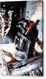 Prototype Airwater Filter On Test Acrylic Print by NASA / Science Source