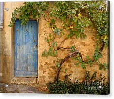 Acrylic Print featuring the photograph Provence Door 5 by Lainie Wrightson