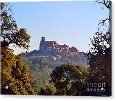 Acrylic Print featuring the mixed media Provence by Rogerio Mariani