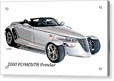 Prowler Acrylic Print by Larry Linton