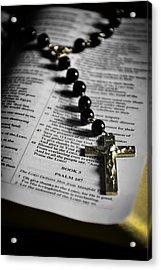 Psalm 107 Acrylic Print by Anthony  Birchman