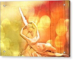 Psyche Revived By Cupid's Kiss Acrylic Print
