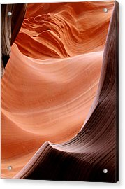 Psychedelic Art - Antelope Canyon Acrylic Print by Christine Till