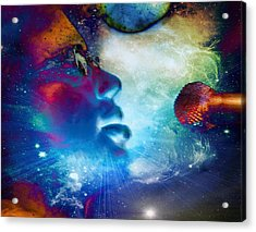 Psychedelic Soul 1 Acrylic Print