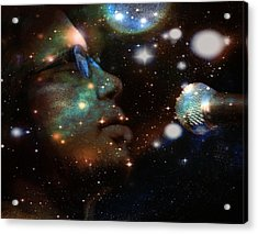 Psychedelic Soul 5 Acrylic Print by Dylan Chambers