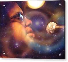 Psychedelic Soul 8 Acrylic Print by Dylan Chambers