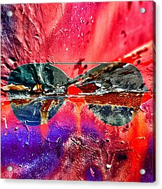 Psychedelic Spectacle  Acrylic Print by Jerry Cordeiro