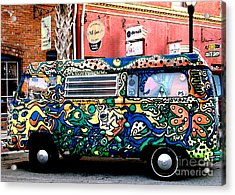 Psychedelic Volkswagen Photograph By Patricia Januszkiewicz