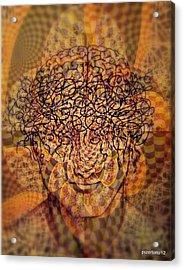 Psycho Traumatic Hypnotic Acrylic Print by Paulo Zerbato