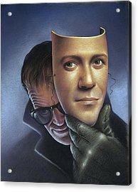 Psychosis, Conceptual Artwork Acrylic Print