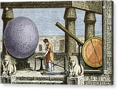 Ptolemy's Observatory, 2nd Century Ad Acrylic Print by Sheila Terry