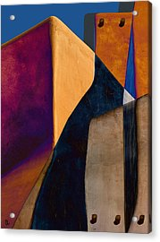 Pueblo Number 2 Acrylic Print by Carol Leigh