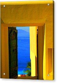 Puerto Vallarta Portal Acrylic Print