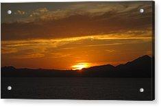 Acrylic Print featuring the photograph Puerto Vallarta Sunset by Marilyn Wilson