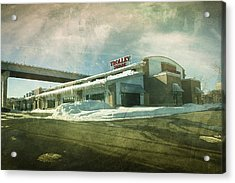 Pullman's Restaurant Acrylic Print by Joel Witmeyer