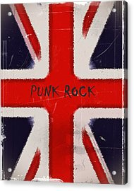 Punk Rock Acrylic Print by Sharon Lisa Clarke