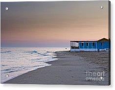 Punta Secca Sunset Acrylic Print by Roberto Bettacchi