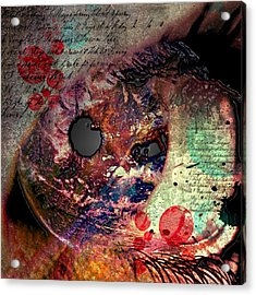 Pupil Of Pleasures  Acrylic Print by Empty Wall