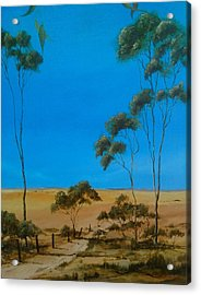 Pure Australia Acrylic Print by Paul Morgan