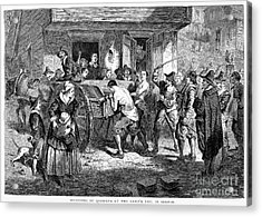 Puritans And Quakers, 1677 Acrylic Print by Granger