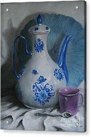 Purple Cup Acrylic Print