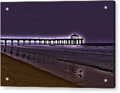 Purple Dawn Acrylic Print