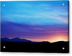 Purple Evening  Acrylic Print by Kevin Bone