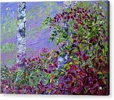 Purple Haze Acrylic Print by Joanne Smoley