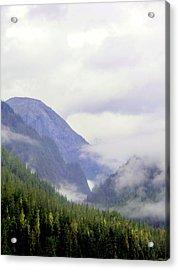 Purple Mountain Majesties Acrylic Print by Mindy Newman