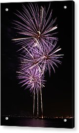 Purple Palms Acrylic Print