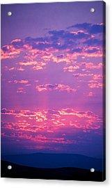 Purple Sky  Acrylic Print by Kevin Bone