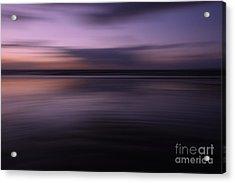 Purple Sunset Acrylic Print by Urban Shooters