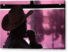 Purple View  Acrylic Print by Fabio Lorenzano