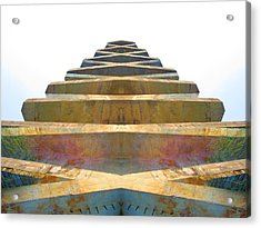 Pyramid Acrylic Print by Michele Caporaso