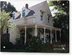 Quaint House Architecture - Benicia California - 5d18793 Acrylic Print by Wingsdomain Art and Photography