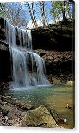 Quakertown Falls Acrylic Print