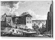 Quebec: Ruins, 1761 Acrylic Print by Granger