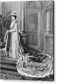 Queen Alexandra, 1902 Acrylic Print by Omikron