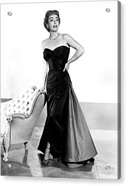 Queen Bee, Joan Crawford, In A Gown Acrylic Print by Everett