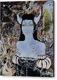 Queen Mab 1 Acrylic Print by Jackie Rock