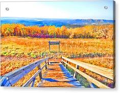 Queen Wilhelmina State Park Acrylic Print by Douglas Barnard