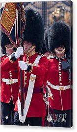 Queens Guards Acrylic Print
