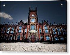 Queen's University Belfast Acrylic Print by Christopher Kulfan