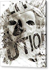 Quell II Acrylic Print by Christian Allen