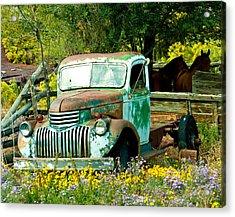 Questa Truck Acrylic Print